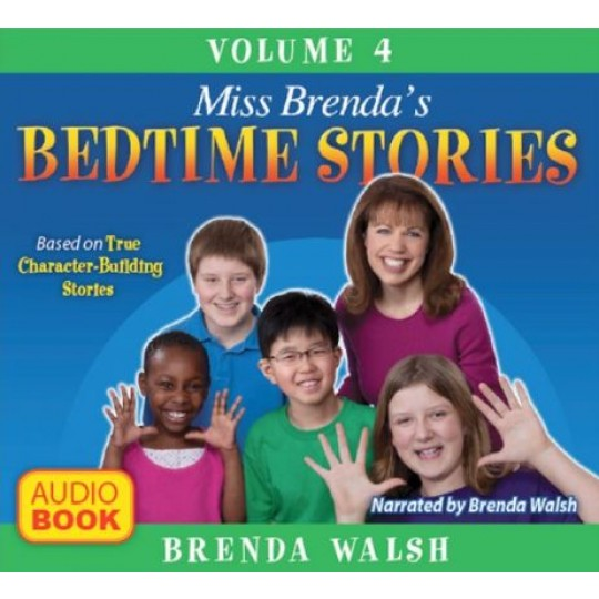 Miss Brenda's Bedtime Stories #4 - Audio CDs