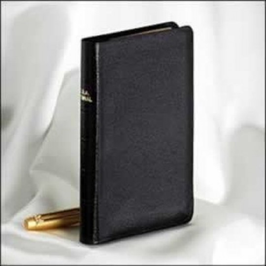 Pocket Size Seventh-day Adventist Hymnal - Black Bonded Leather