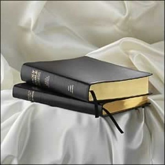 KJV Pocket Bible and Hymnal Set - Bonded Leather Burgundy