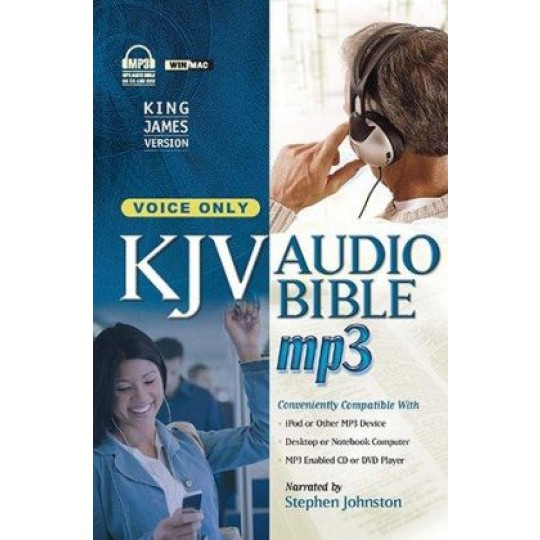 KJV Audio Bible - Voice Only MP3