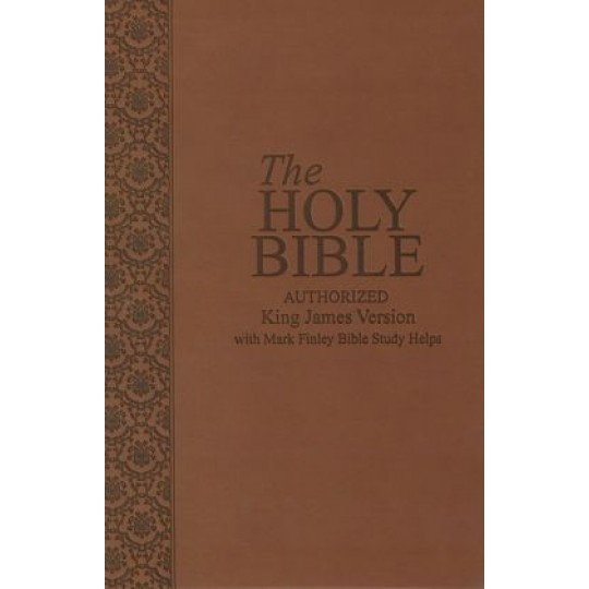 KJV Bible with Mark Finley Helps - Tan Cover