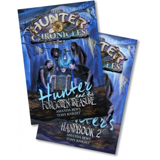 Hunter and the Forgotten Treasure + Hunter's Handbook 2 (2 Set)