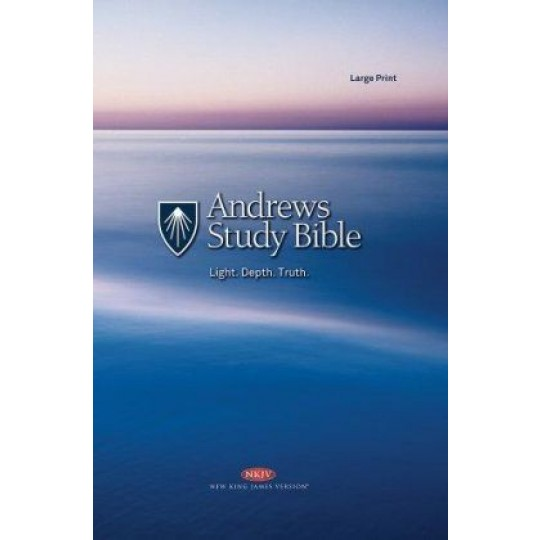 Andrews Study Bible (NKJV) LARGE PRINT Hardcover