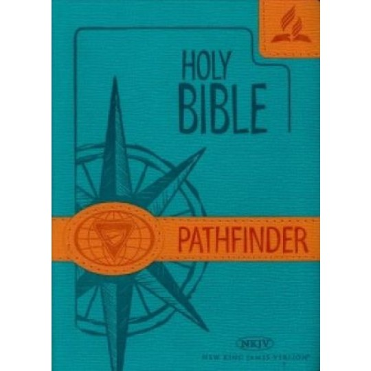 The Pathfinder Bible (NKJV) - Aqua Cover