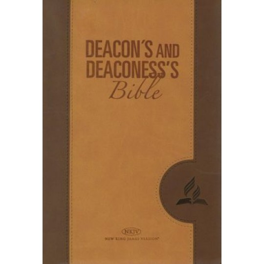 Deacon's and Deaconess's Bible (NKJV) Tan Cover