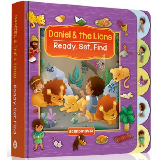 Daniel & the Lions (Ready, Set, Find Series)