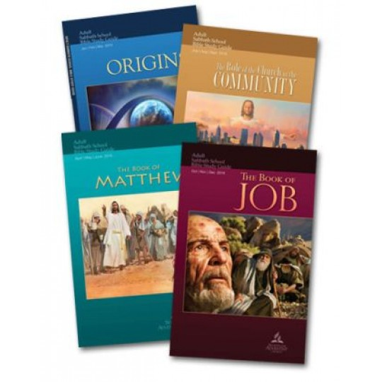 Adult TEACHER Sabbath School Lesson Pamphlet